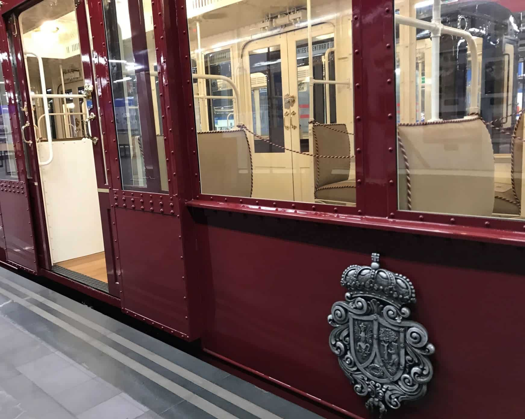 exposicion de trenes antiguos en madrid