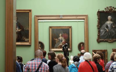 Guía para visitantes a una Galería de Arte